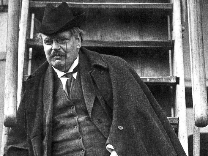 "chesterton essays chalk In the first paragraph of his essay, ""a piece of chalk,"" g k chesterton creates a foil, so to speak, in the person of an elderly homeowner whom he describes as "" square and sensible"" (a foil is a character whose personality consists of traits that are opposite to those of the main character and, therefore."
