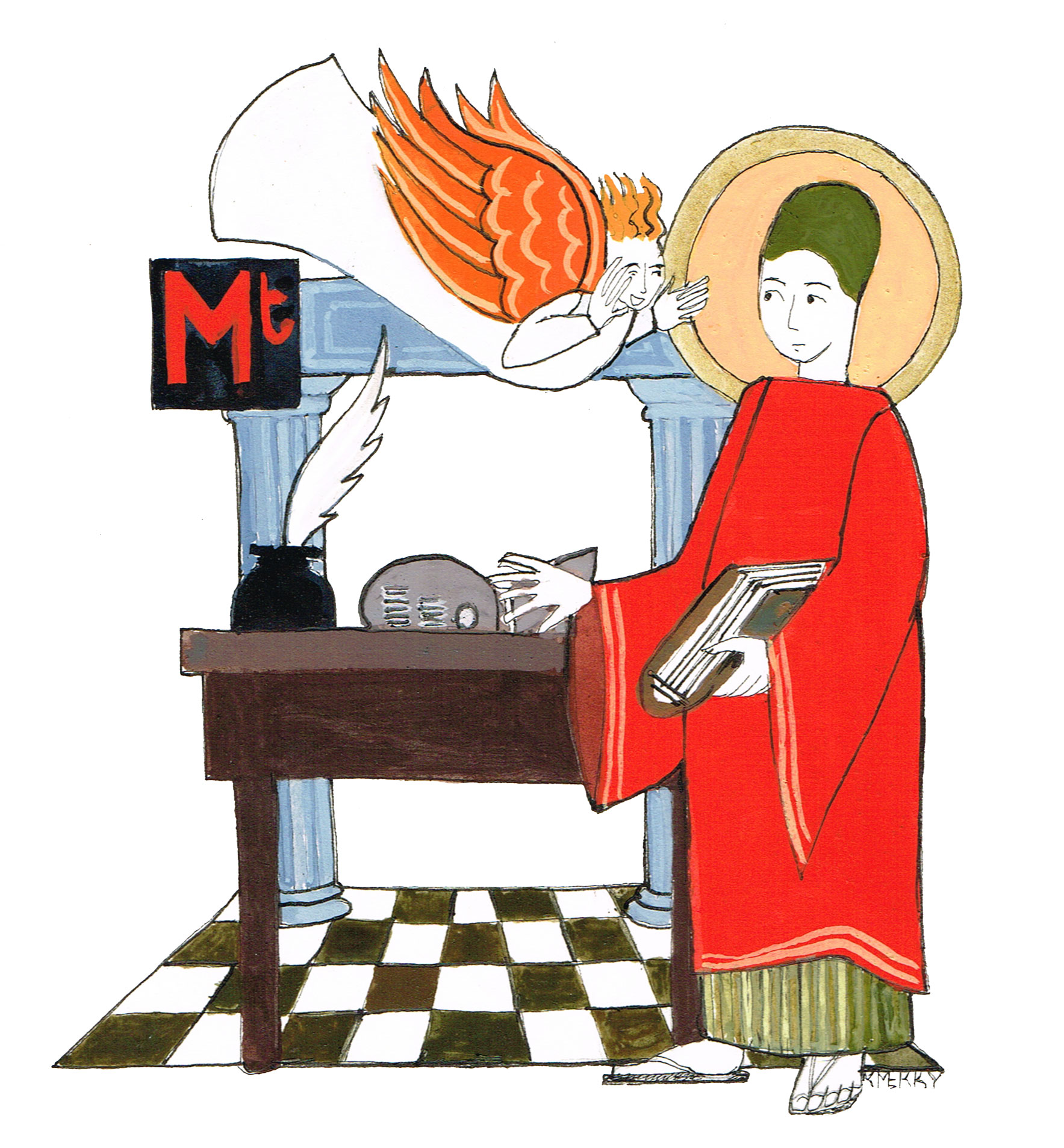 saint matthews Saint matthew's follows a lectionary, which is a schedule of readings that balances two aims one aim of the lectionary is to help the church systematically read.