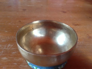 become an open singing bowl