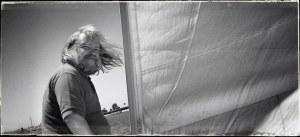 Steve Bell captured me in ancient mariner mode!