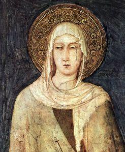 Santa Chiara, lovely claritas