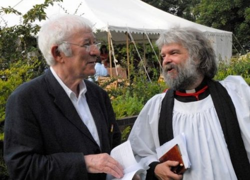 With Seamus Heaney at Little Gidding