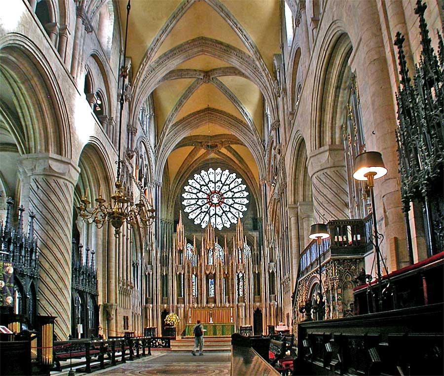 Durham cathedral malcolm guite for Catedral de durham interior