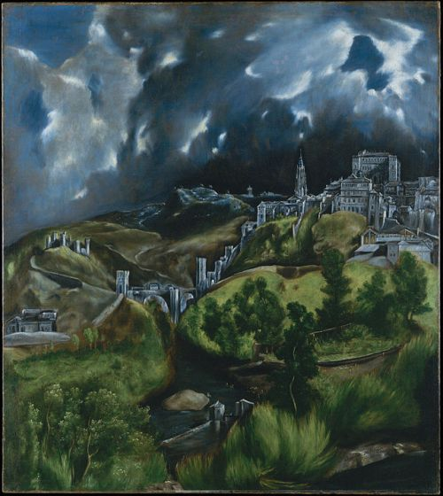 El Greco's landscape of Toledo depicts the priory in which John was held captive