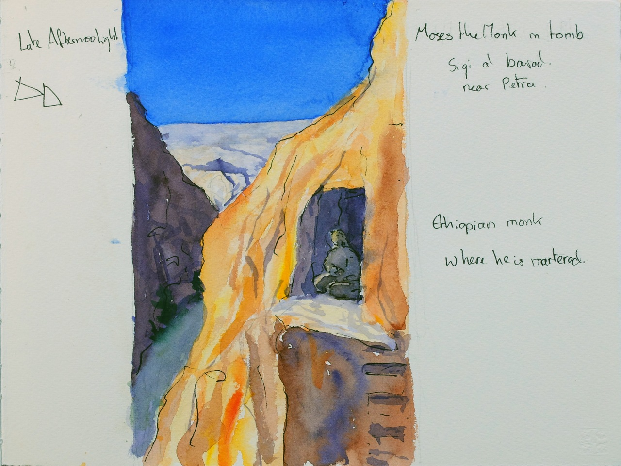 Abba Moses the Black near Petra