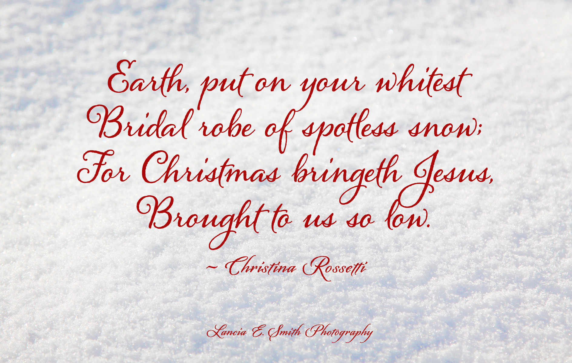 Christmas Eve by Christina Rossetti | Malcolm Guite