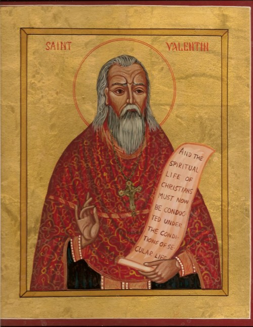 Why should this martyr be the saint of Love?