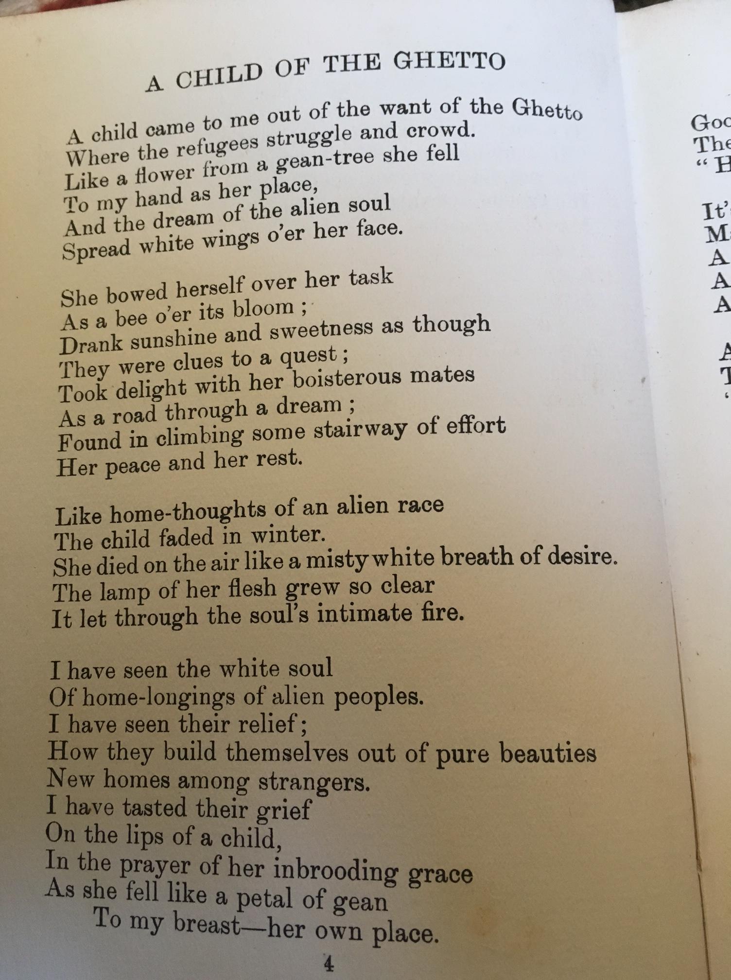 Poem For a Refugee Child | Malcolm Guite