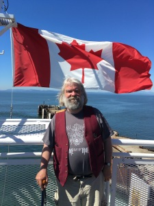 The true North Strong and Free (on the Victoria Ferry!)