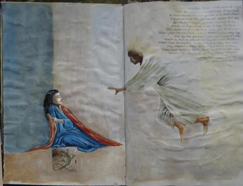 Annunciation by Linda Richardson