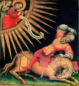 Conversion of Saint Paul Artist Unknown Niedersaechsisches Landesmuseum, Hannover, Germany