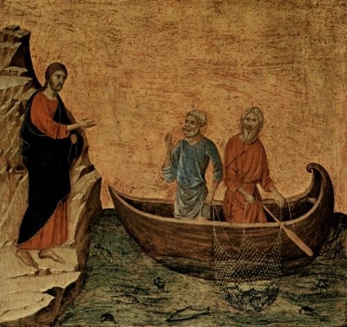 The call of the Disciples by Duccio di Buoninsegna