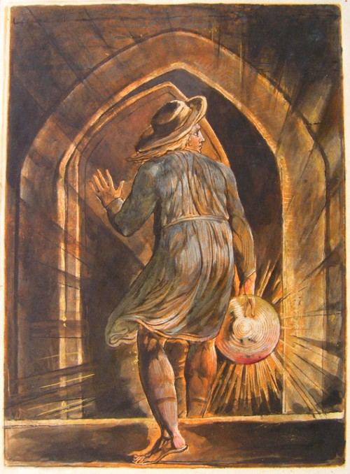 The Frontispiece of Blake's prophetic poem Jerusalem